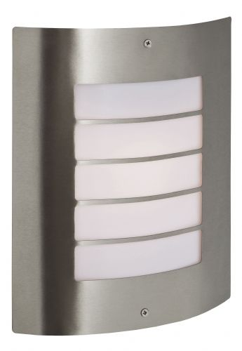 Firstlight 6408ST Stainless Steel Prince Wall Light